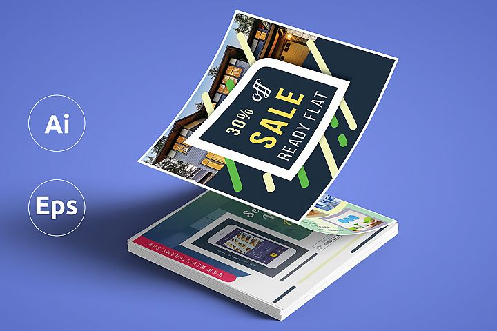 Promotional Z Fold Brochure Template