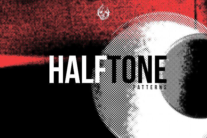 HALFTONE - 55 Distressed Overlays