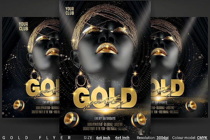 Gold Flyer