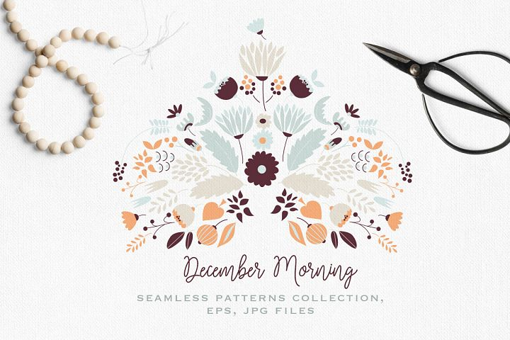 December Morning Patterns Collection
