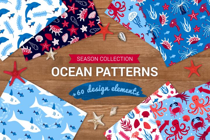 Ocean Patterns & Design Elements