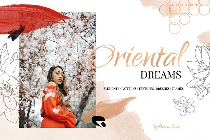 Oriental dreams design set