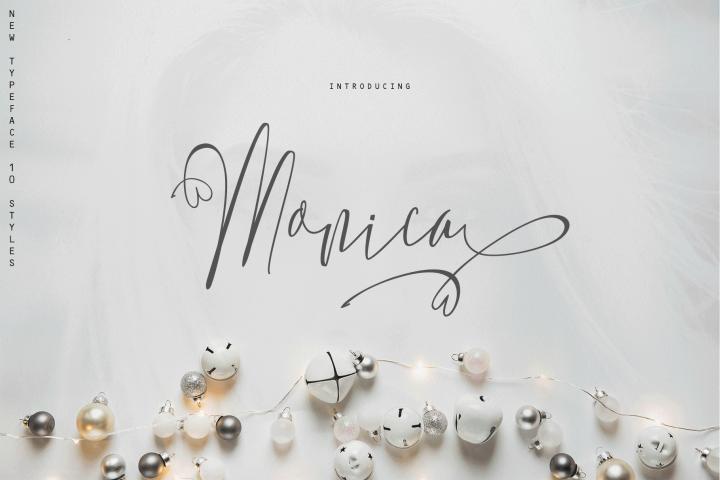 Monica -10 Elegant Font