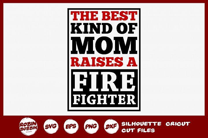 Firefighter Mom SVG - Firefighter SVG