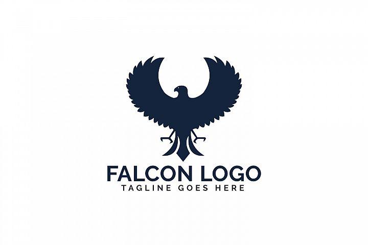 Falcon logo design.