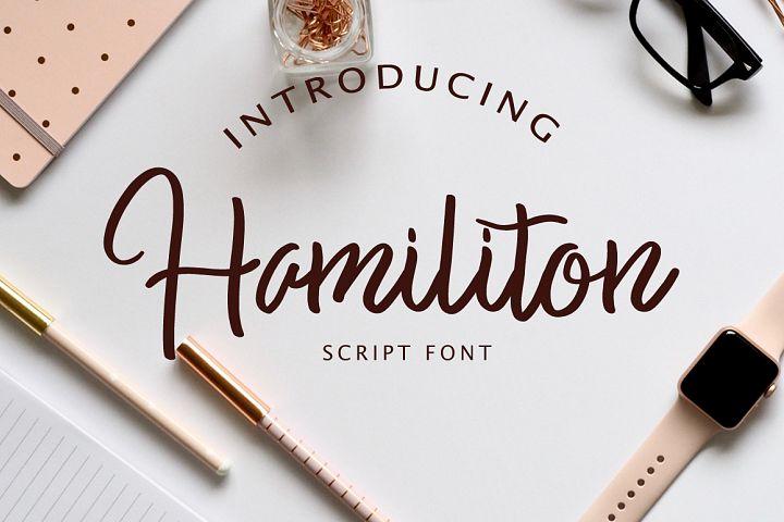 Hamiliton Script Font