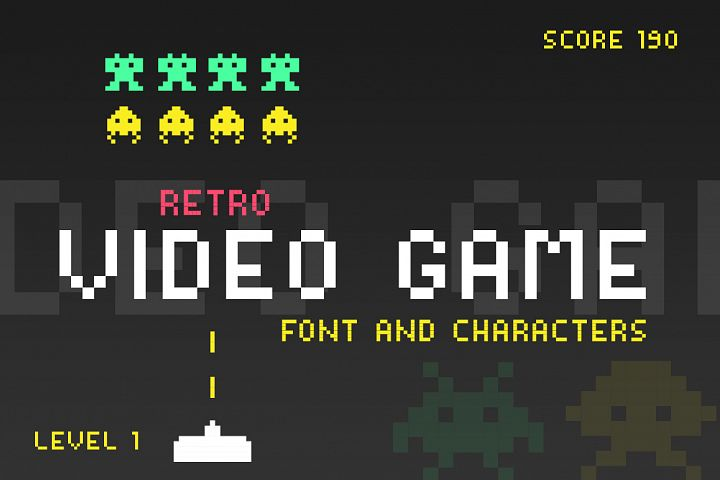 Video Game Font