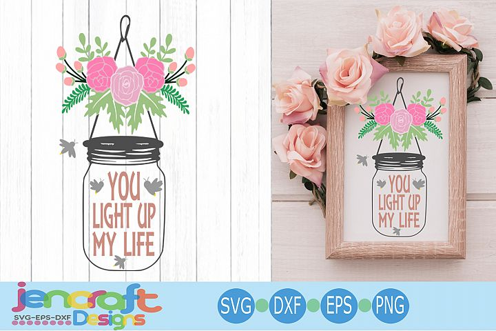 Wedding Svg, Bride Groom Reception design, Floral Jar svg