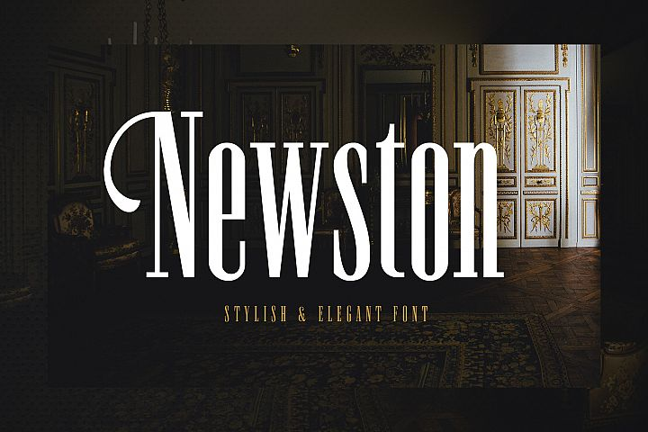 Newston - Stylish Serif Font