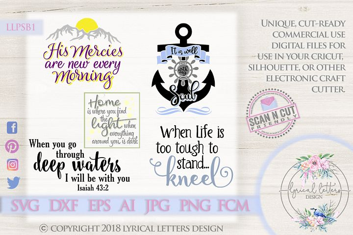 Paradise Strong Bundle from Lyrical Letters Design