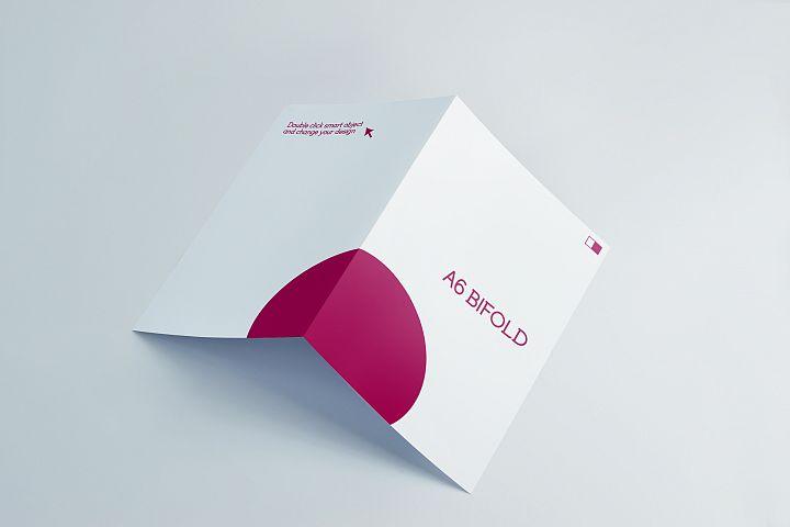 A6 Invitation & Greeting Card Mockups