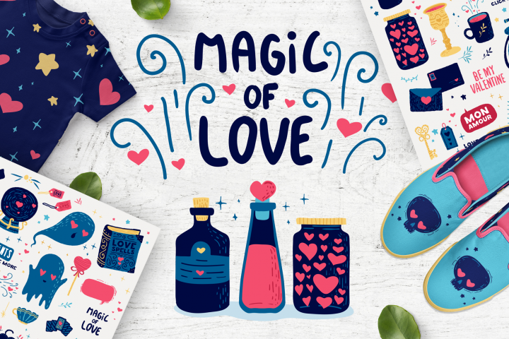 Magic of Love - Romantic set
