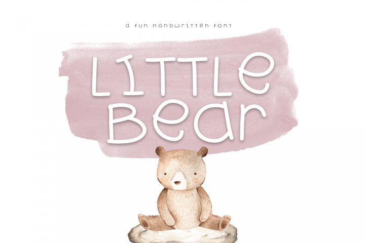 Little Bear - A Fun Handwritten Font