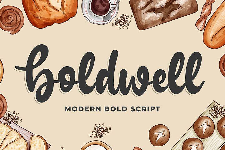 Boldwell - Bold Modern Script example image 1