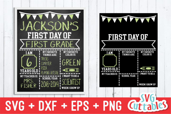 First Day of School, Last Day of School|svg Cut File