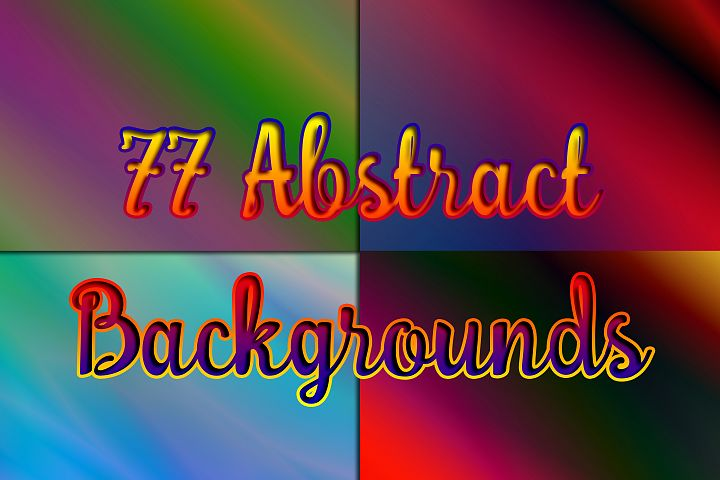 77 Abstract Backgrounds