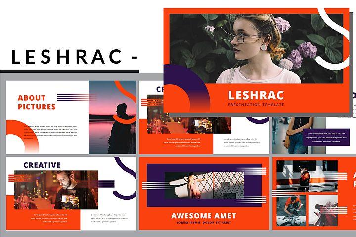 Leshrac - Lookbook Powerpoint Template