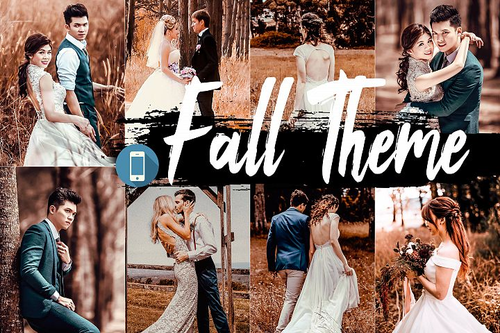 5 Fall Mobile Lightroom Presets