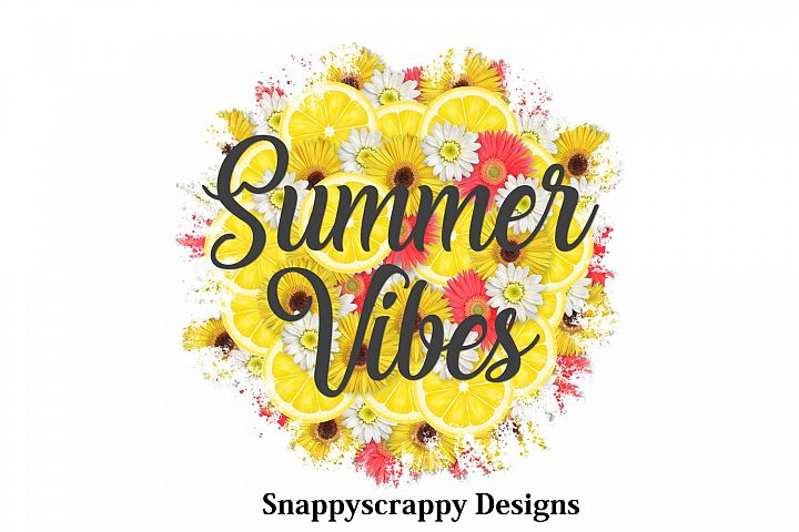 Summer Vibes Sublimation