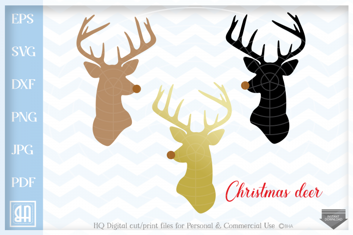 Christmas reindeer SVG, Reindeer SVG, Christmas bundle