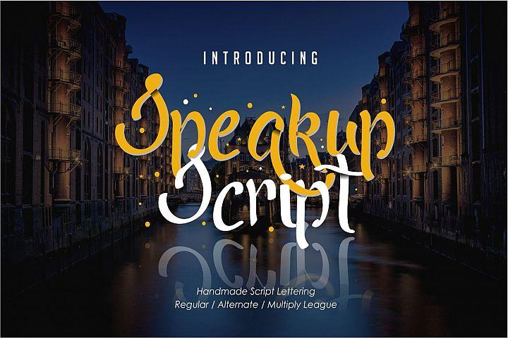 Speakup Script