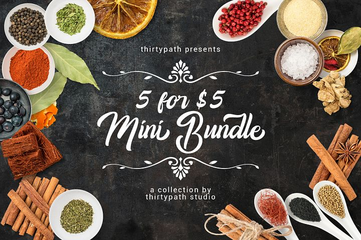 5 for $5 dollars Mini Bundle