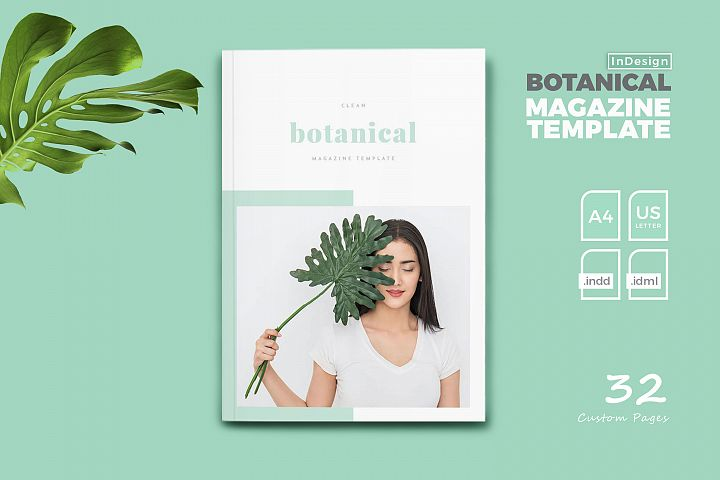 Botanical Magazine Templates