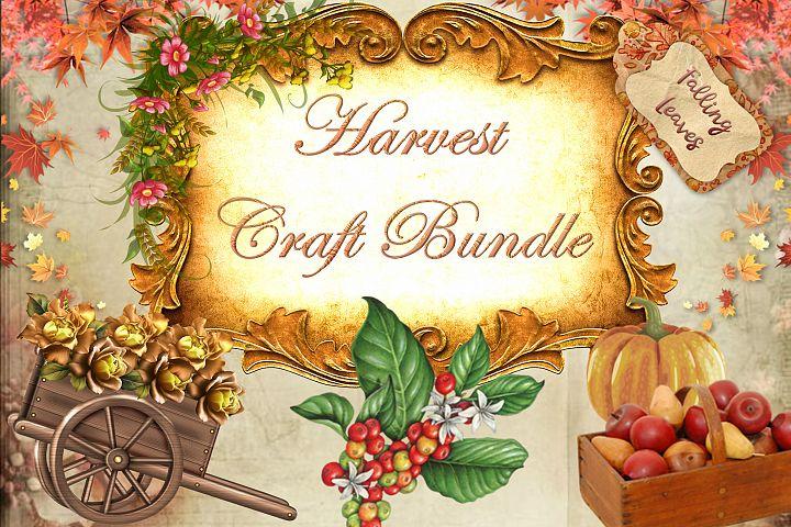 Autumn Fall Mega Craft Bundle Commercial Use