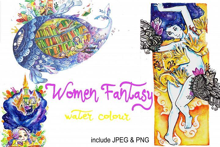 Woman Fantasy