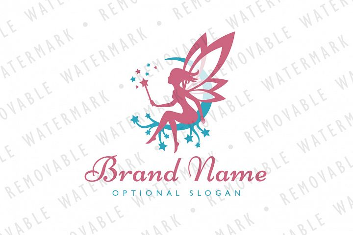 Magical Fairy Logo