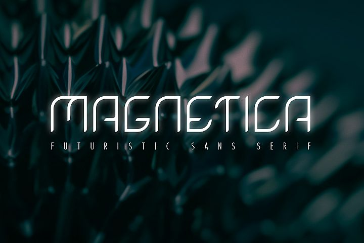 Magnetica Font - Modern Sans Serif