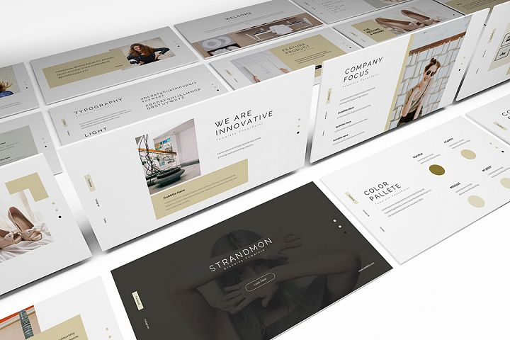 Strandmon Branding Powerpoint