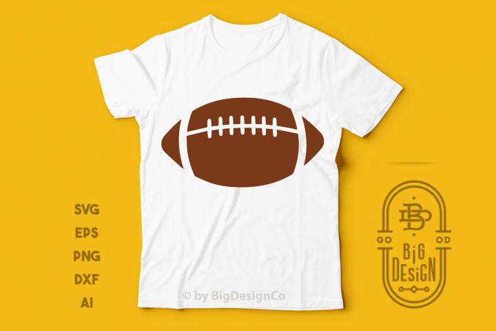 Football Ball SVG Cut file