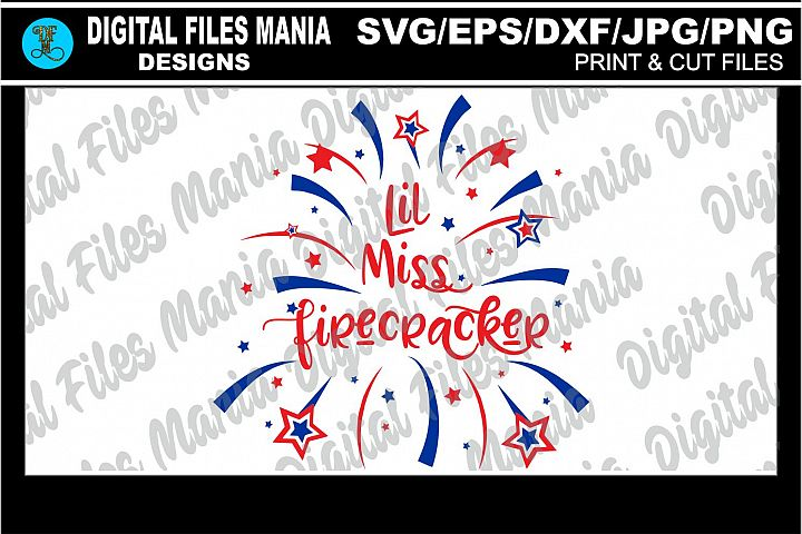 Lil Miss Firecracker /4th of July