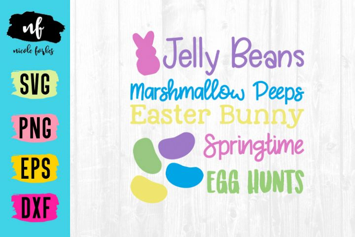 Easter Time Cut SVG File