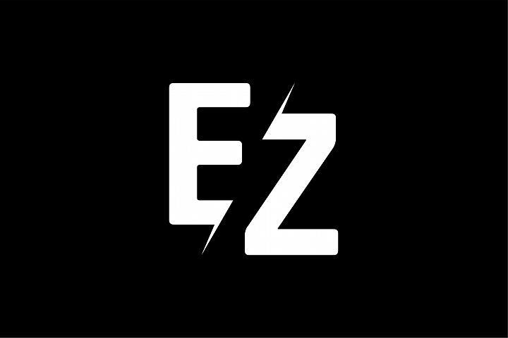Monogram EZ Logo design