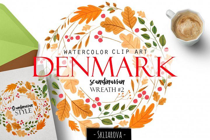 Denmark. Scandinavian wreath #2
