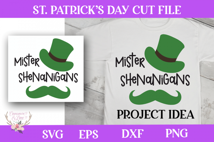 St. Patricks Day SVG - Mister Shenanigans