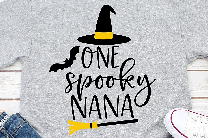 One Spooky Nana SVG, DXF, PNG, EPS