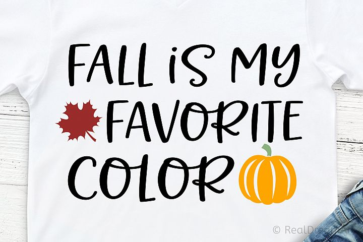 Fall Is My Favorite Color SVG, DXF, PNG, EPS