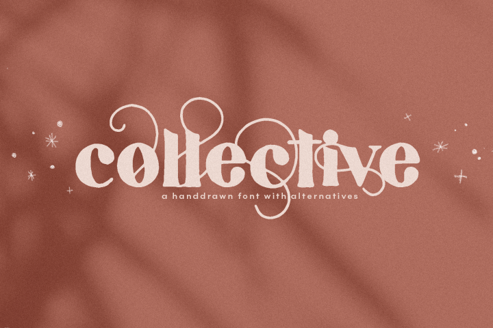 Collective - A Hand-Drawn Serif Font