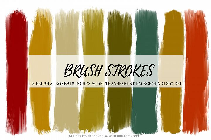 Brush Strokes, Digital Brush Strokes