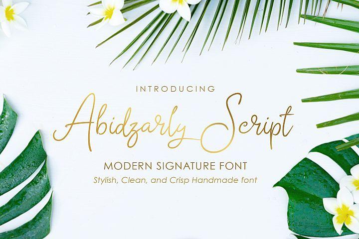 Abidzarly Script