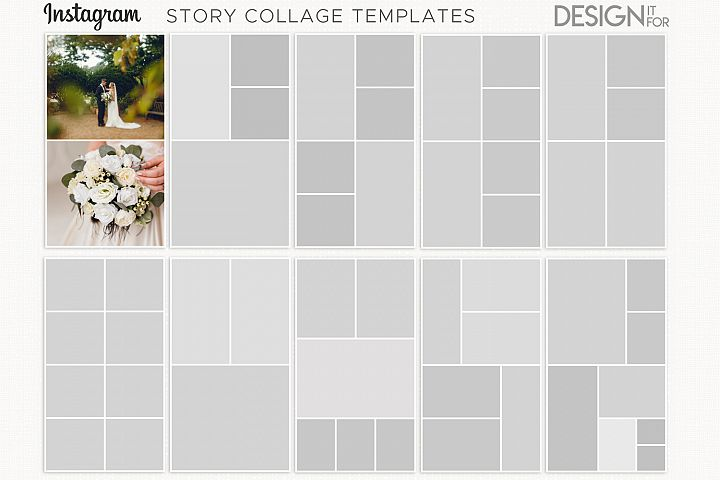 instagram story templates, instagram story collage templates