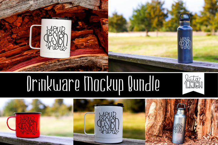 Drinkware Mockup Bundle