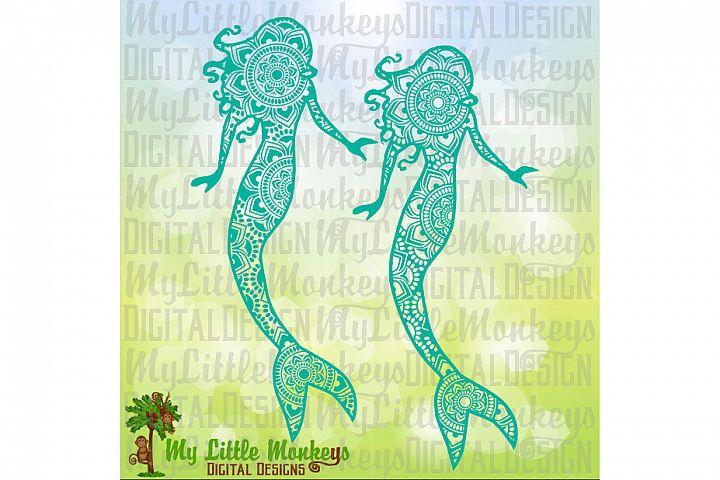 Mermaid Mandala Design