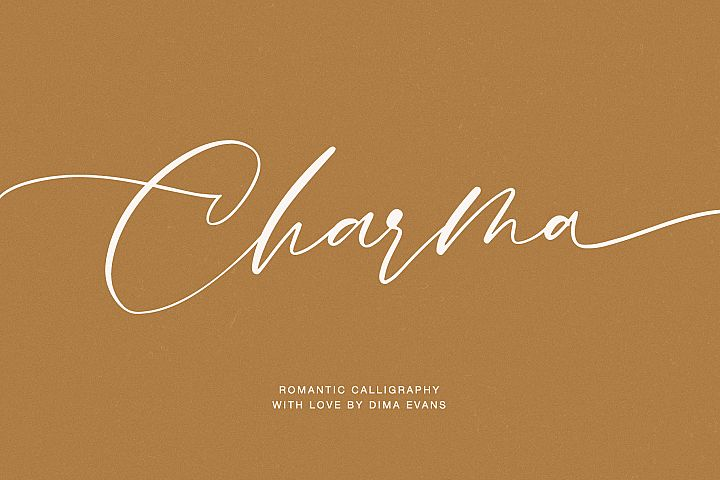 Charma // Romantic Script