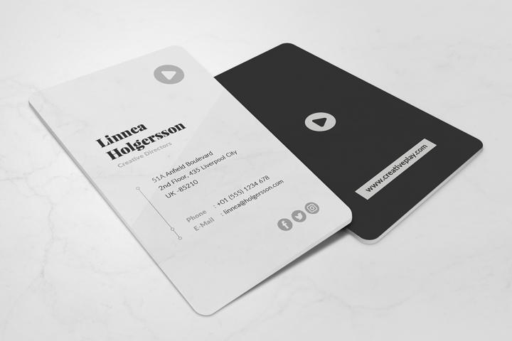 Minimalist Business Card Vol. 10