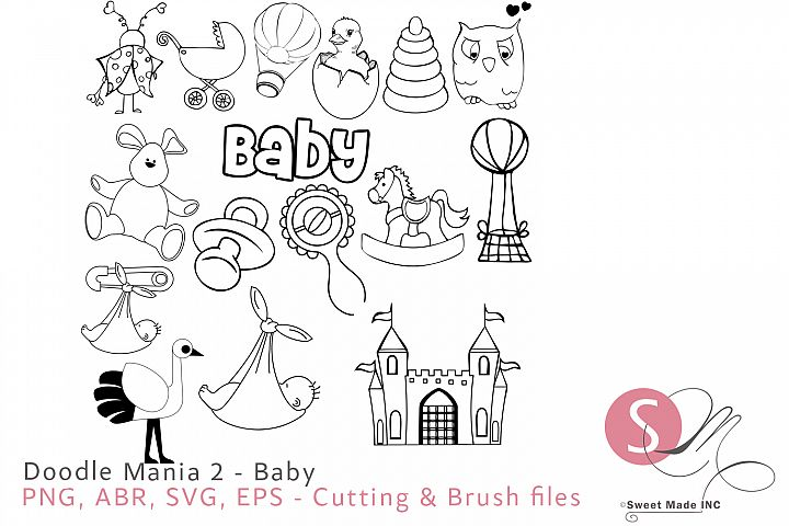 Doodle Mania 2 -Baby