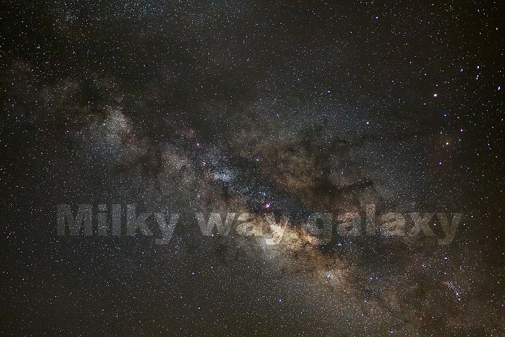 Milky way Comet and Comet 252P/LINEAR